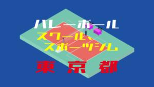 【東京都】バレーボールスクール、スポーツジム【2019年度版】