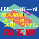 埼玉県バレーボール個人開放、スクール、スポーツジム