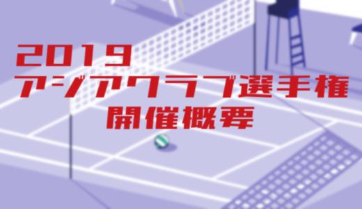 2019アジアクラブ選手権概要