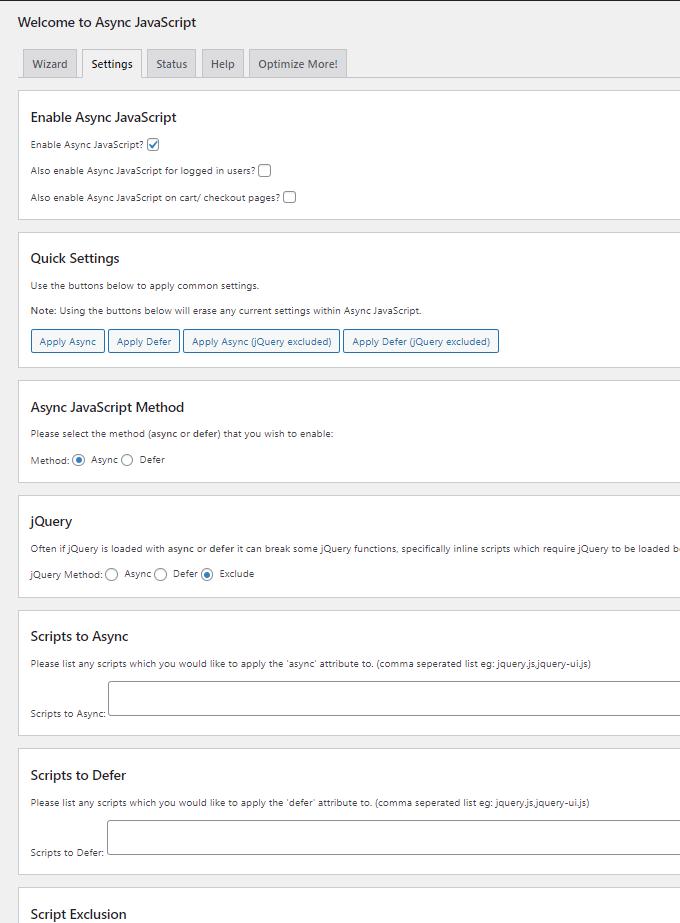 Async JavaScript設定1