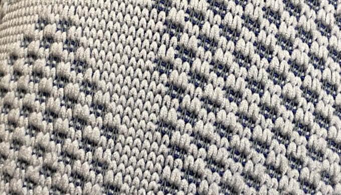 ゲニュトレインの縫製